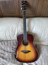 Yamaha fg ta electro acoustic