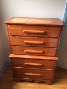 Vilas maple dresser