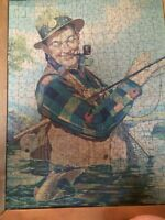 Bing Crosby puzzle photo in frame