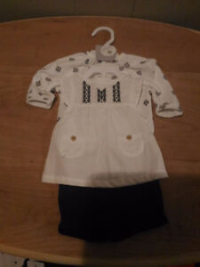 Brand New Carter Baby Girl Three Piece Layette