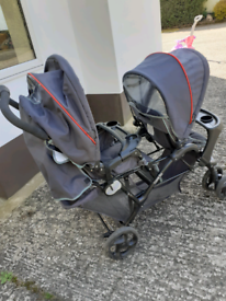 Graco twin buggy