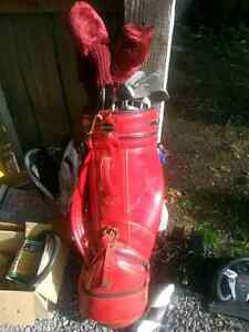Complete golf club set with shoes n balls