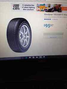 "Four ""all season"" tires for sale, 195/60R15......"