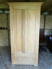 Solid oak pinetum quercus wardrobe