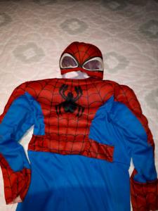 Costume de Spider Man 3 ans