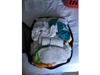 Little lamb washable nappy pack