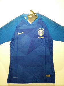 Brazil World Cup 2018 Nike Vapornit Blue Jersey (Player version)