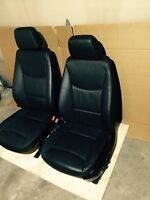 BMW black Dakota front seats for E90/E91