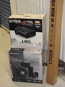 LOCUS LED SMART PROJECTOR PACKAGE