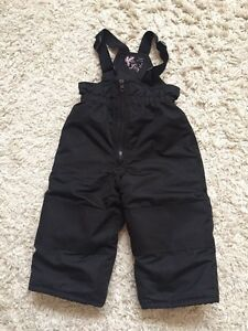 Joe Fresh Black snow pants size 2