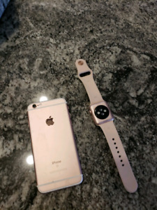 Apple iPhone 6s 32g and apple watch series 1 combo