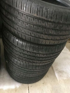 Michelin Tires - Great Shape - 70% threads    245/45R17