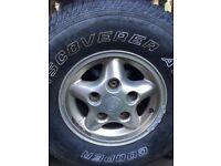 Landrover defender freestyle alloy wheels