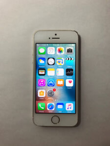 UNLOCKED Gold 16GB iPhone 5S (A- Condition) + iOS10