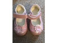 Mothercare pink shoes size 3/19