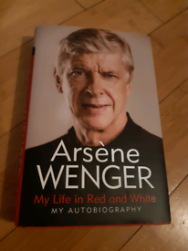 Arsene Wenger Autobiography - My Life in Red and White
