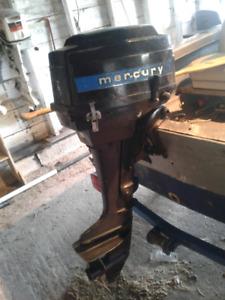 7.5 Hp Mercury boat motor
