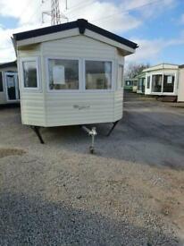 28x10 ten foot wide static caravan for sale off site
