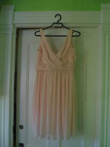 David's Bridal dress with cowl back Cambridge Kitchener Area image 2