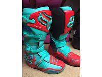 Motocross boots fox instinct limited edition