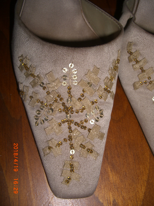 WEDDING/PROM SHOES - BEADED SILK 's  - SHOES Shoes 05bfe5