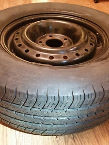 4 all season tires with rims for sale Kitchener / Waterloo Kitchener Area image 2