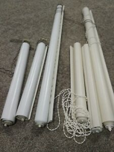 6 Rolling WIndow Blinds/Blackout Blinds for Sale