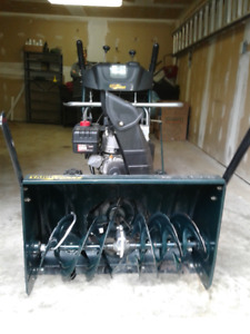 """Used Yardworks 30 """" 10.5 HP Snowblower With Electric Start Works"""