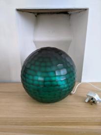 John Lewis Ophira lamp (teal)