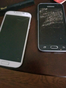 Galaxy s4 and j1 galaxy for sale