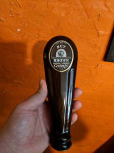 Old Garrison brewing tap handle