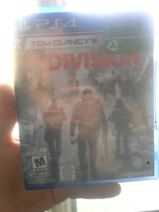Tom clancy The Division ps4 20 $