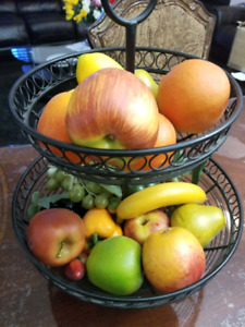 Artificial Fruit Basket
