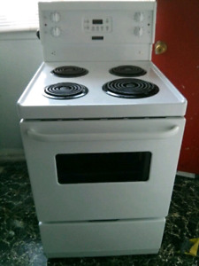 """24""""STOVEWHITE ELECTRIC FRIGIDAIRE"""
