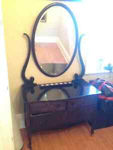 Antique dresser with mirror London Ontario image 1