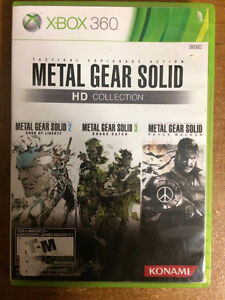 Metal Gear Solid HD Collection (Xbox 360) St. John's Newfoundland image 1