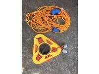 Caravan hook up cable x2 25 metre