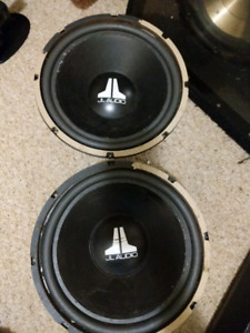 2 JL 12w0-8 12 Inch Subs!!!