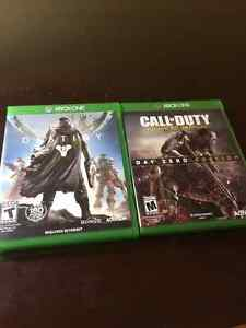 DESTINY AND CALL OF DUTY ADVANCE WARFARE FOR SALE West Island Greater Montréal image 1