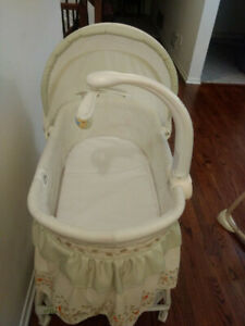 Baby bassinet, Swing and Comfy infant head support