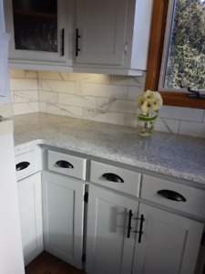 Paint Old Kitchen Cabinets with Cottage Paint