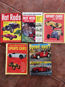 Vintage Auto Books, Programs and Literature $3.00 and up