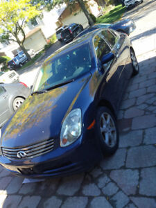 Infiniti G35 For Sale Does Not Run As Is