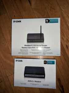 Wireless Home Router and Modem