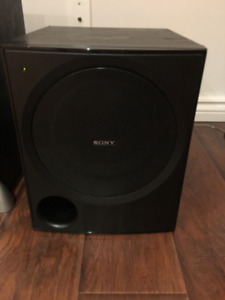 Sony Powered Subwoofer Mint