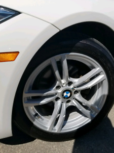 """BMW 17"""" rims and all season tires"""