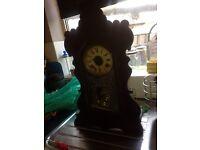 Anstonia large mantel clock made in newyork ,