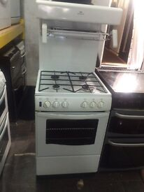 White new world 55cm high levels gas cooker grill & oven good condition with guarantee