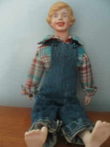 COLLECTABLE 1973 MAGGIE HEAD KANE (TOM SAWYER) DOLL FOR SALE