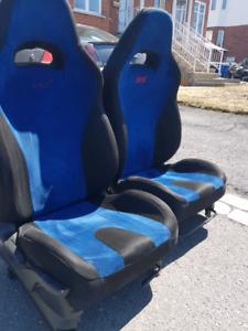 bancs STI v8 seats JDM